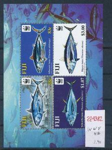 WWF.-Fiji  Block   **   (zz9382  ) siehe scan