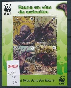 WWF.-Peru   Block   **   (zz9383  ) siehe scan