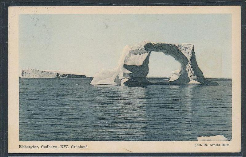 Grönland  -alte Karte   (da5089  ) siehe scan