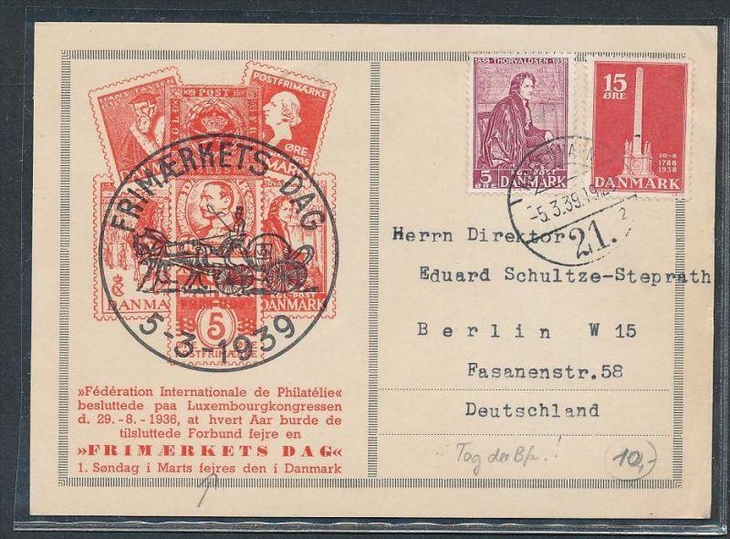 Dänemark- Sammler Karte  ( be2073 ) siehe Bild