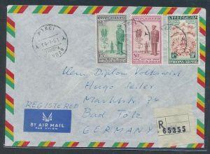 Äthiopien Luftpost-Beleg    (be 2469 ) siehe scan