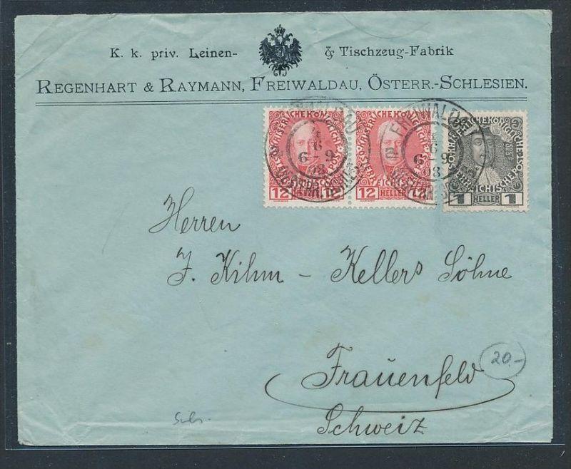 österreich Brief In Die Ch Zz9531 Siehe Scan Nr 359156963