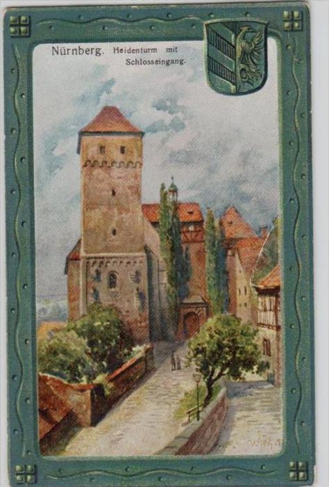Nürnberg   -  alte Karte   (k  165  ) siehe scan