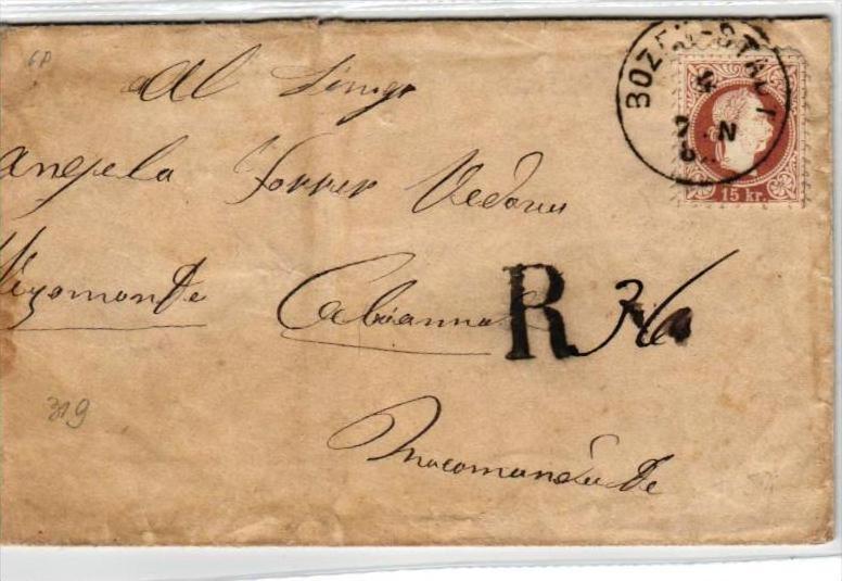 Österreich  alter Beleg-....  Stempel  (br 337  ) siehe scan...
