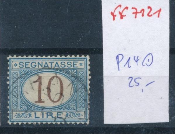 Italien Nr.  Porto 14   o  (ff7121 ) siehe scan