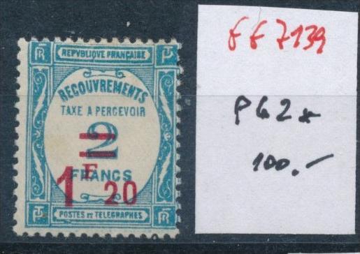 Frankreich Porto Nr. 62 *       (ff7139 ) siehe scan