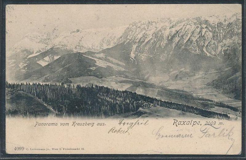 Österreich - am Kreuzberg  STEMPEL  -alte Karte    (da5300  ) siehe scan