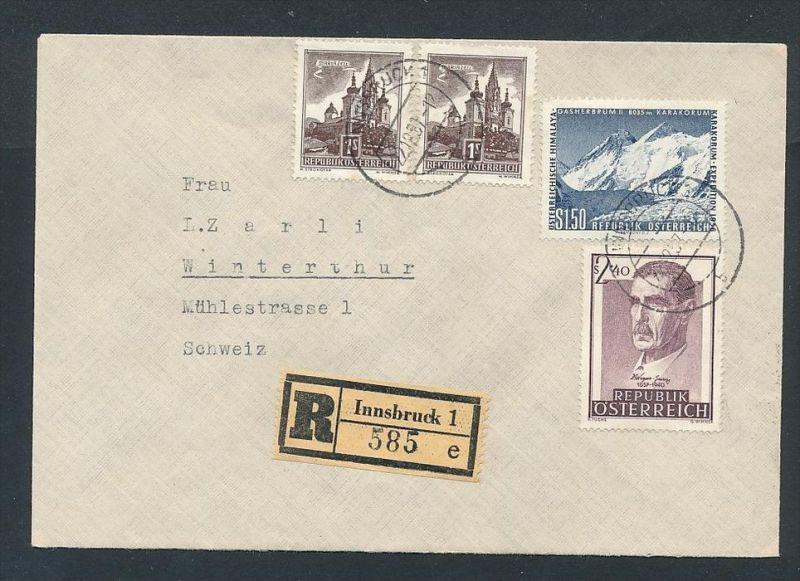 österreich Reco Brief In Die Ch Zz9675 Siehe Scan Nr
