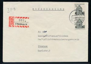 BRD  Eilbrief  MEF.... (be2869 ) siehe scan