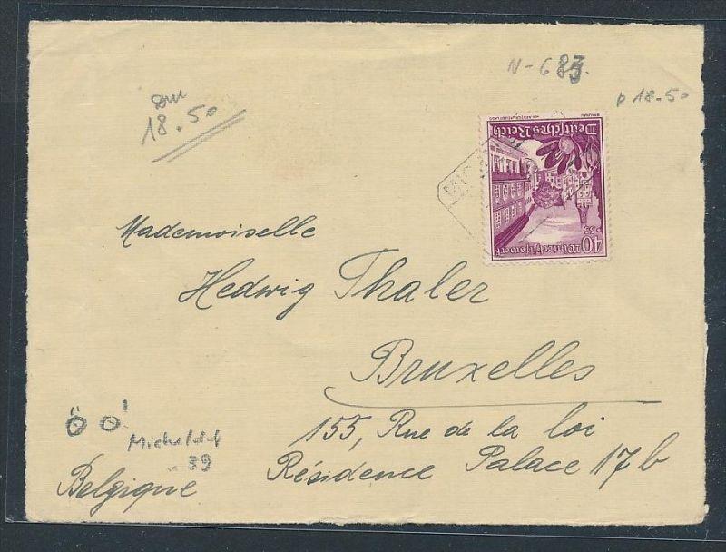 Briefvorderseite-Stempel....       (be2866 ) siehe scan