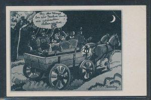 Militär Humor ungebraucht   ....  -alte Karte  (da5293   ) siehe scan