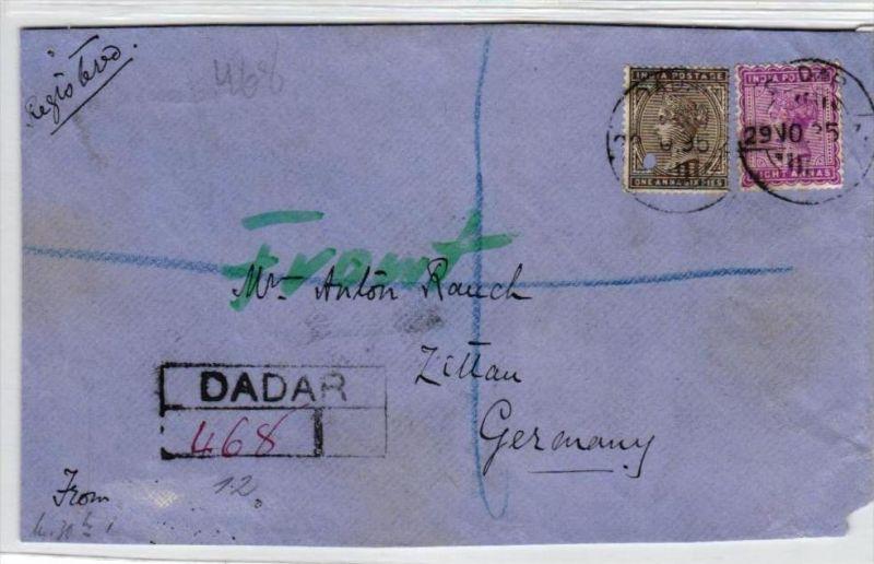 Indien alte Briefvorderseite     (br 413  ) siehe scan  !