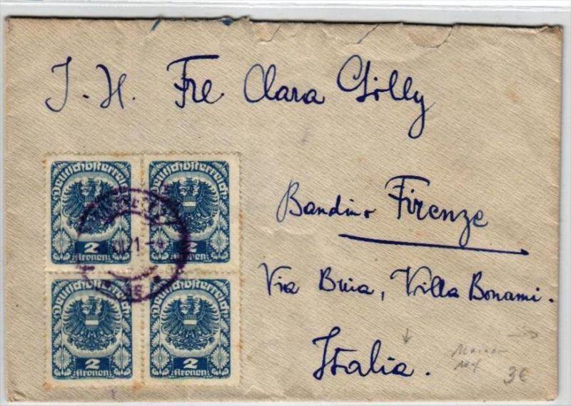 österreich Brief Nach Italien Br417 Siehe Scan Nr 365165612
