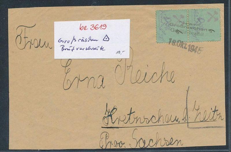 Großräschen Briefvorderseite    (be3619  ) siehe scan