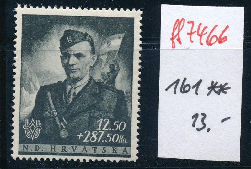 Kroatien Nr. 161  **     (ff7466 ) siehe scan