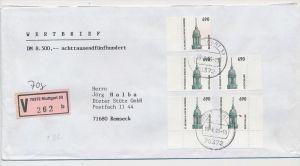 BRD Mef .R.-Brf./Wert -Mef  6,90 D-Mark    (zz9900 ) siehe scan