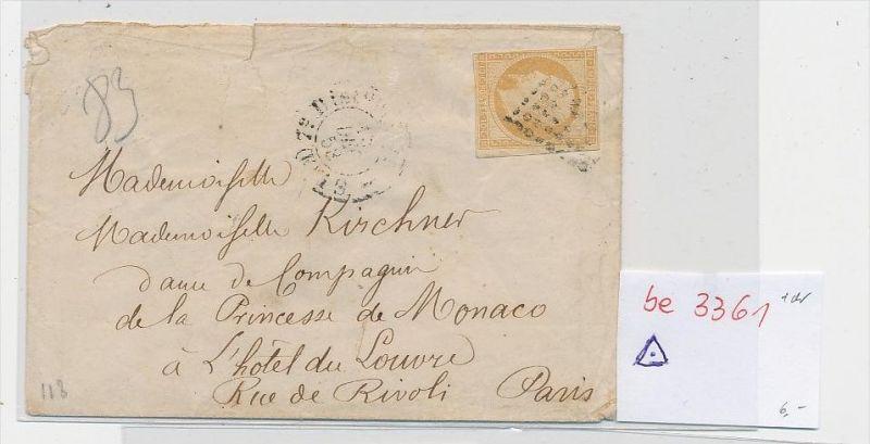 Frankreich Briefvorderseite....  (be3361 ) siehe scan