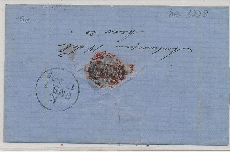 Belgien Alter Brief Nach Dänemark Be3229 Siehe Scan Nr