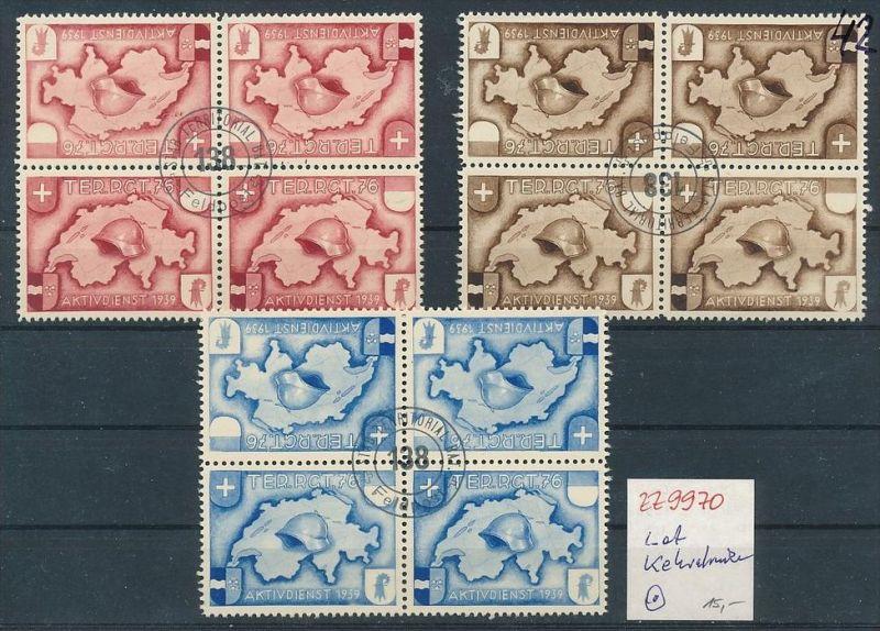 Schweiz Lot Soldaten Marken-Kehrdrucke o     (zz9970  ) siehe Bild