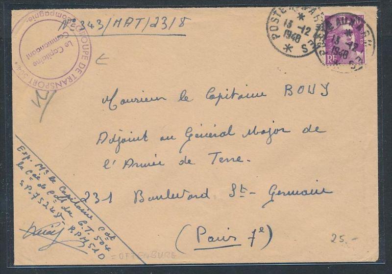 Frankreich  -netter Beleg  ..Stempel    (be3748   ) siehe scan
