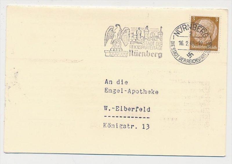 D.-Reich  Sonder/Werbe Stempel Beleg    (be4532  ) siehe scan