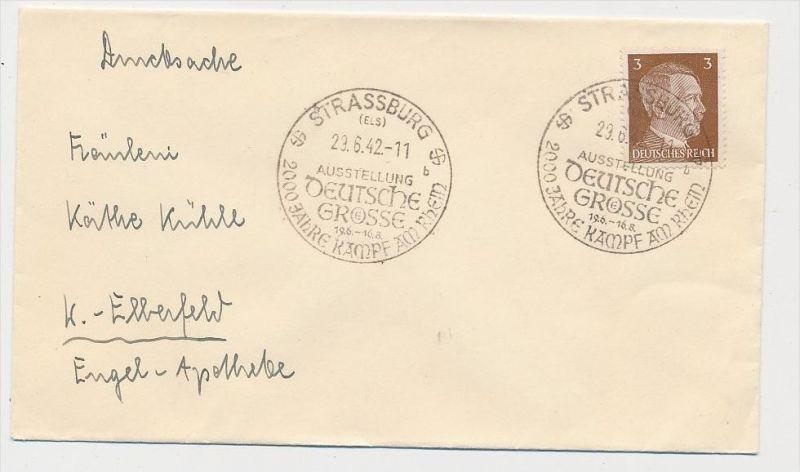 D.-Reich  Sonder/Werbe Stempel Beleg    (be4505  ) siehe scan