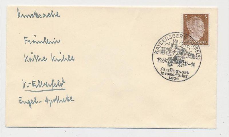 D.-Reich  Sonder/Werbe Stempel Beleg    (be4506  ) siehe scan