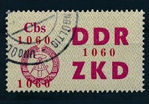 DDR ZKD Nr.  17   amtlich ungültig gestempelt  (f9143  ) siehe scan  !