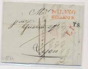 Italien  alter  Beleg.....  (be5057 ) siehe scan