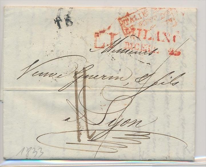 Italien -uralter Beleg    (be5071 ) siehe scan