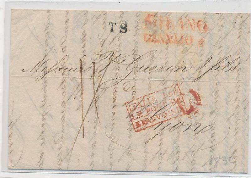 Italien -uralter Beleg    (be5073 ) siehe scan