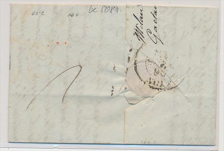 Italien -uralter Beleg    (be5081 ) siehe scan 1