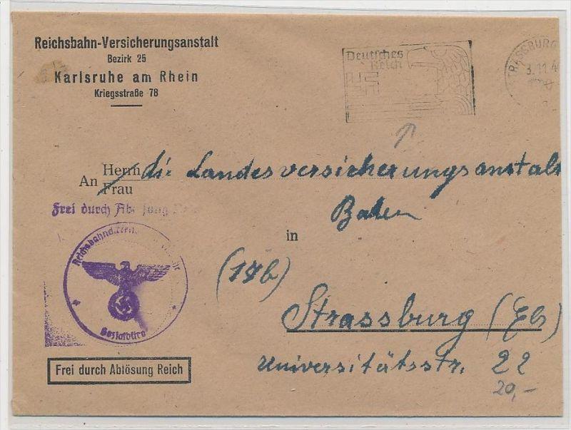 D.-Reich  Stempel Beleg  (be5202 ) siehe scan