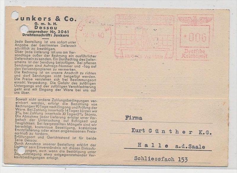 D.-Reich  Stempel Beleg  (be5200 ) siehe scan