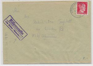 D.-Reich  Stempel Beleg  -Bößenreutin (be5198 ) siehe scan