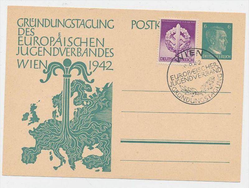 D.-Reich -Ganzsache....  ( be5006   ) siehe scan