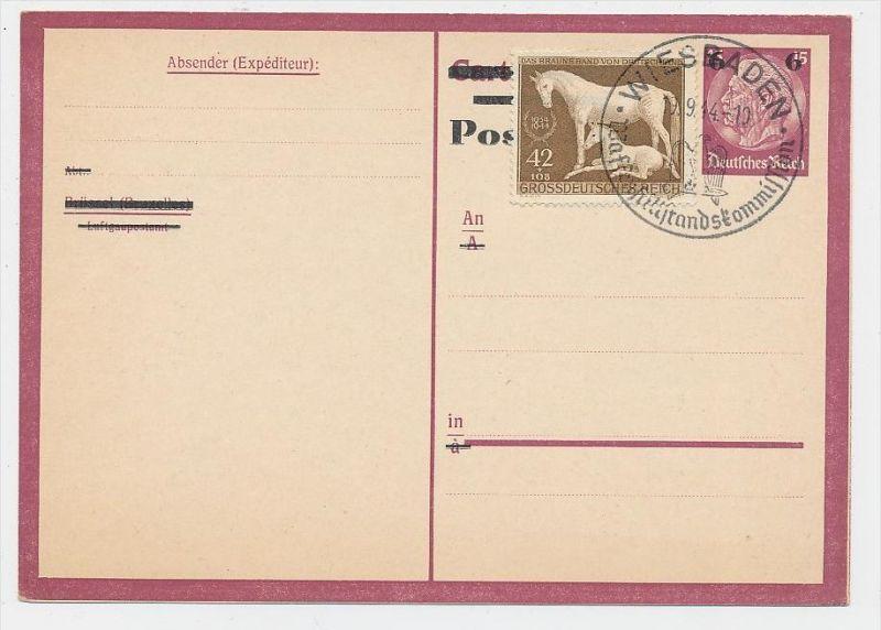 D.-Reich -Ganzsache....  ( be5008   ) siehe scan