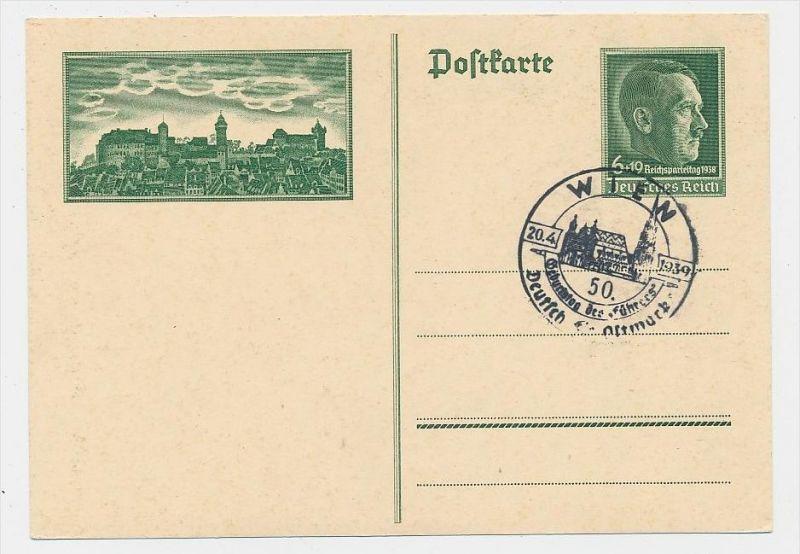 D.-Reich -Ganzsache....  ( be5014   ) siehe scan
