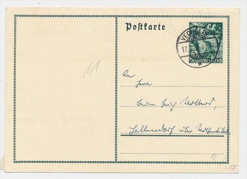 D.-Reich -Ganzsache....  ( be5015   ) siehe scan