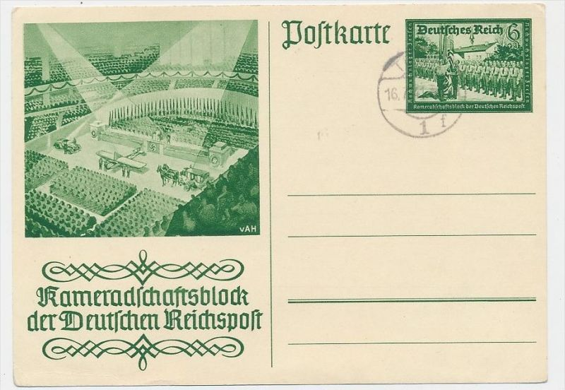 D.-Reich -Ganzsache....  ( be5019   ) siehe scan