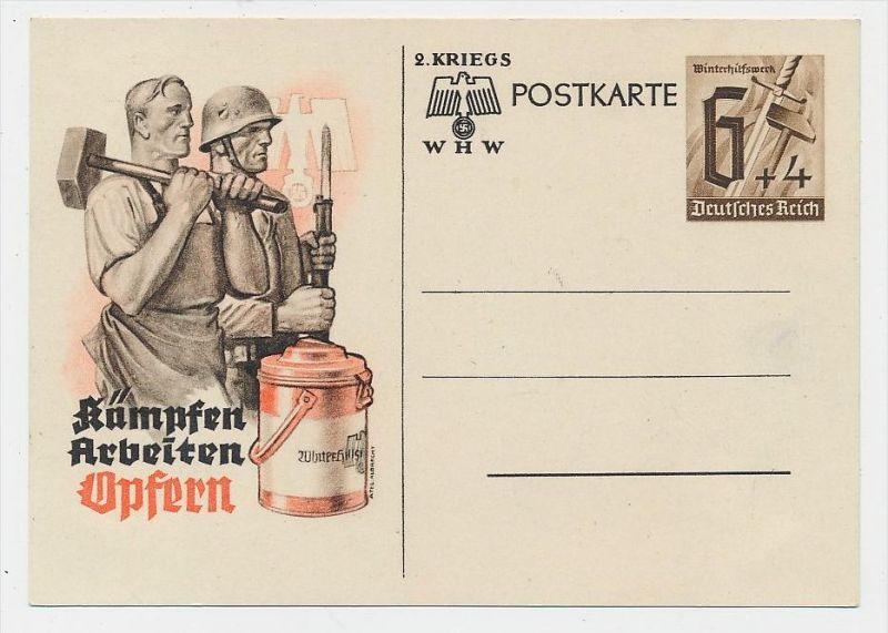 D.-Reich -Ganzsache....  ( be5020   ) siehe scan