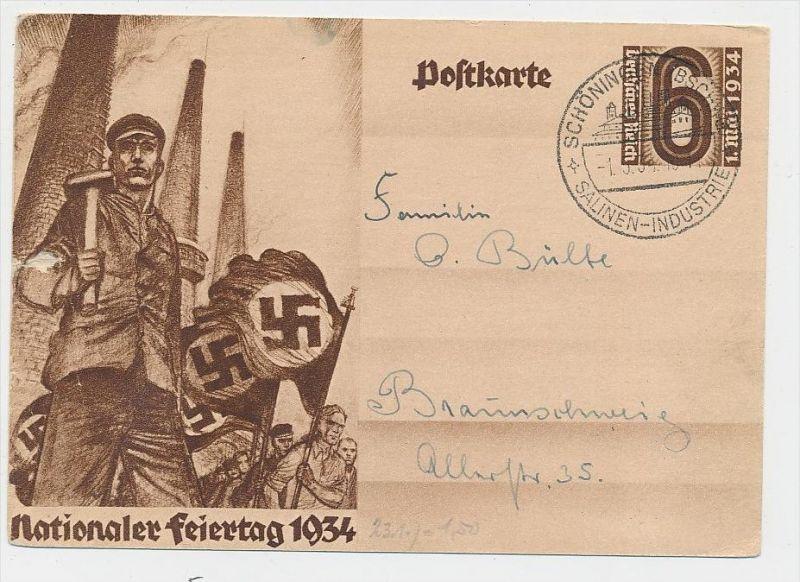 D.-Reich -Ganzsache....  ( be5022   ) siehe scan
