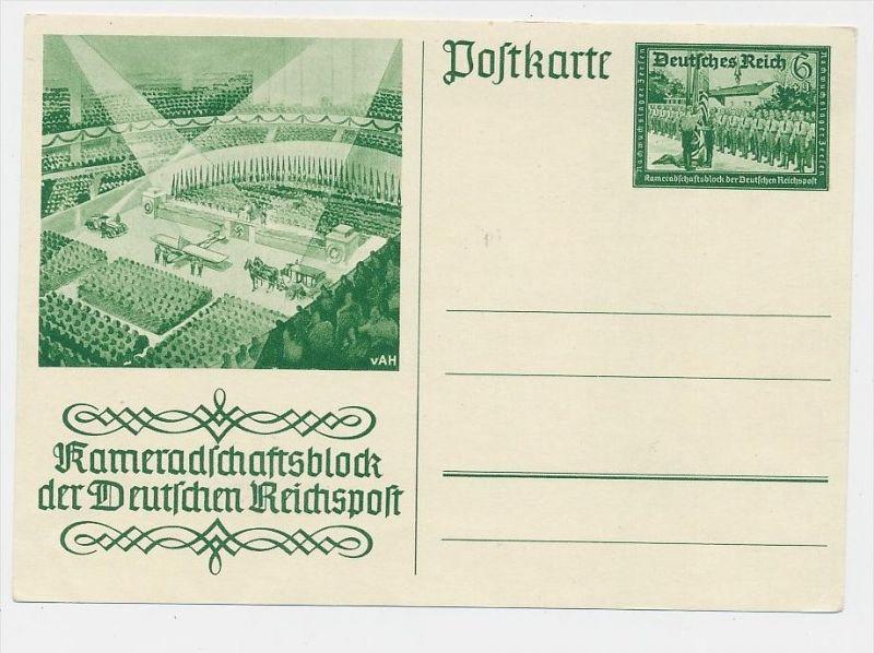 D.-Reich -Ganzsache....  ( be5023   ) siehe scan