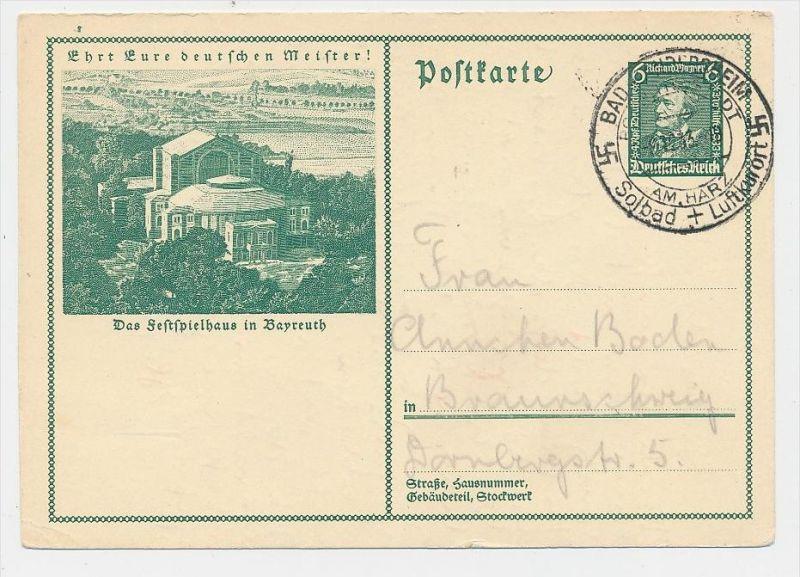 D.-Reich -Ganzsache....  ( be5027   ) siehe scan
