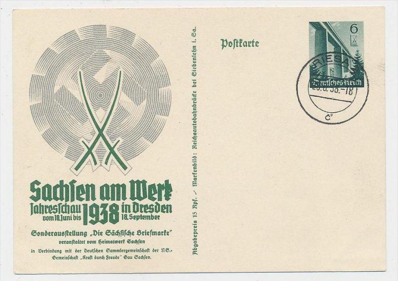 D.-Reich -Ganzsache....  ( be5028   ) siehe scan