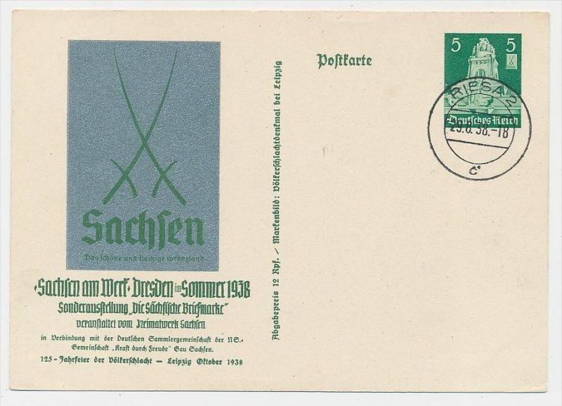 D.-Reich -Ganzsache....  ( be5029   ) siehe scan