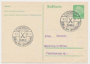 D.-Reich  Sonder /Werbe Stempel Beleg    (be4985 )  siehe Bild