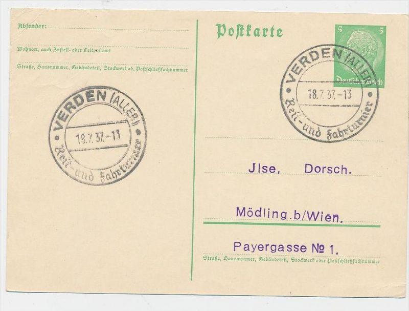 D.-Reich  Sonder /Werbe Stempel Beleg    (be4990 )  siehe Bild