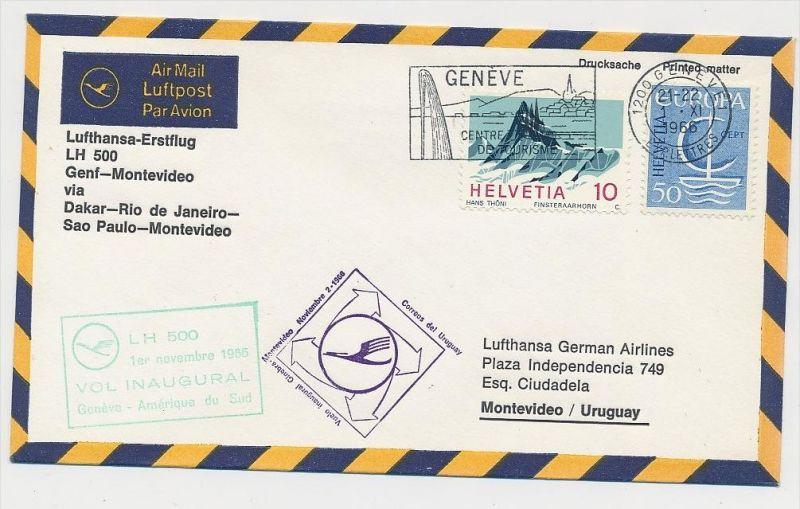 Schweiz-Luftpost Beleg    (be4805 )  siehe Bild