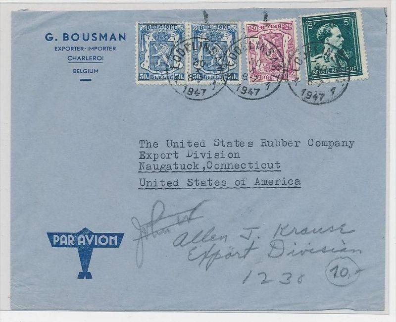 Belgien  Luftpost  >USA      (be5300 ) siehe scan